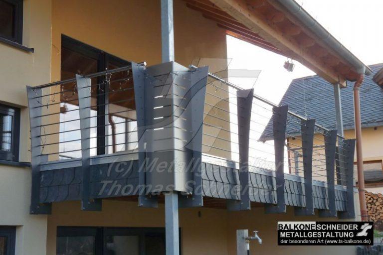 Können Geländer Teil der Gestaltung sein?