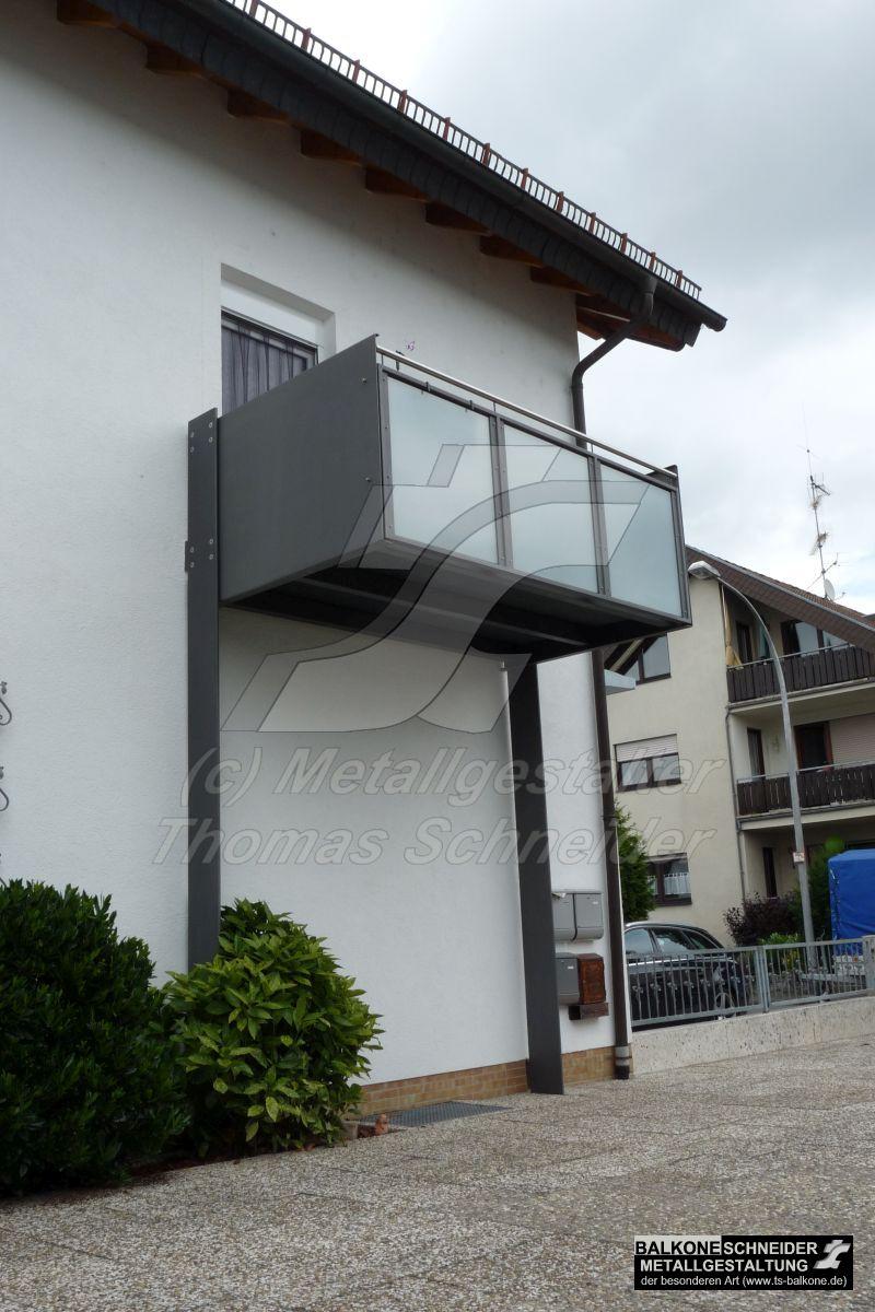 Freihangende Stahlbalkone Ohne Pfeiler Balkone Schneider