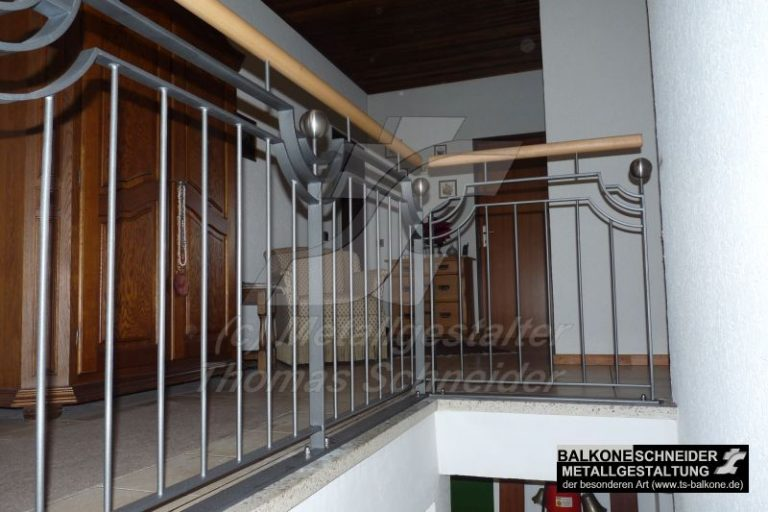 Zu jedem Haustyp ein passendes Geländer