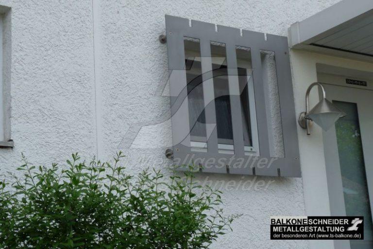 Ein Fenstergitter. Oder?