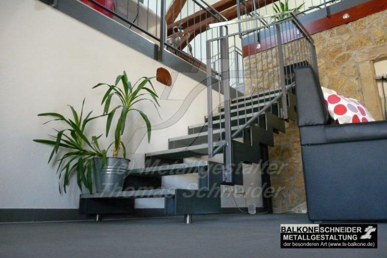 eine Treppe kann auch gestaltend wirken