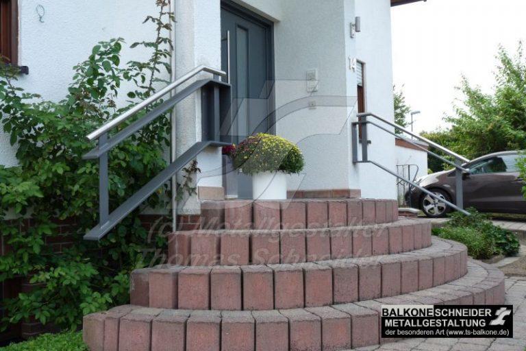 Freischwebende Geländer