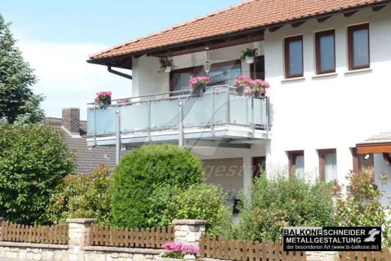 Die Balkonvergrößerung erhöht deutlich die Lebensqualität und der Zugewinn an Wohnfläche ist enorm.