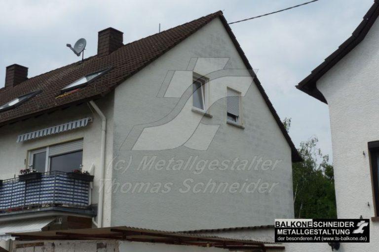 Diese Wohnung im Dachgeschoss hat keinen Balkon?