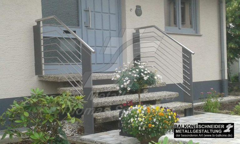 Auch ein schlichtes Treppengeländer kann ein Blickfang sein