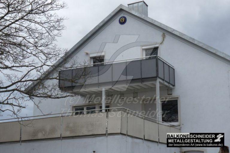 Eine nutzbare Balkonfläche außerhalb der Fundamentposition? Bei unseren Balkonen kein Problem